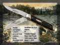 Northfield Furtaker Trapper Black Gold Knife - Serialised